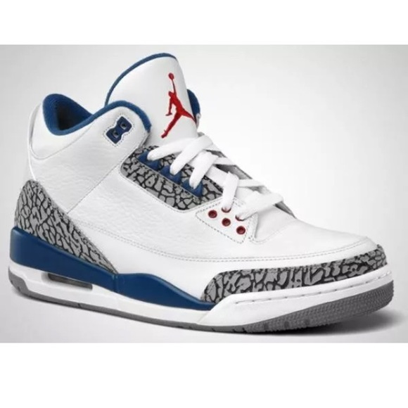6b0a859bbc1 Nike Shoes | Air Jordan Retro 3 Gs True Blue 854261106 4y | Poshmark